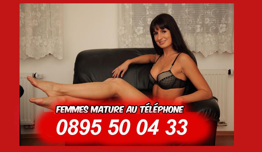 florence, cougar chaude au telephone